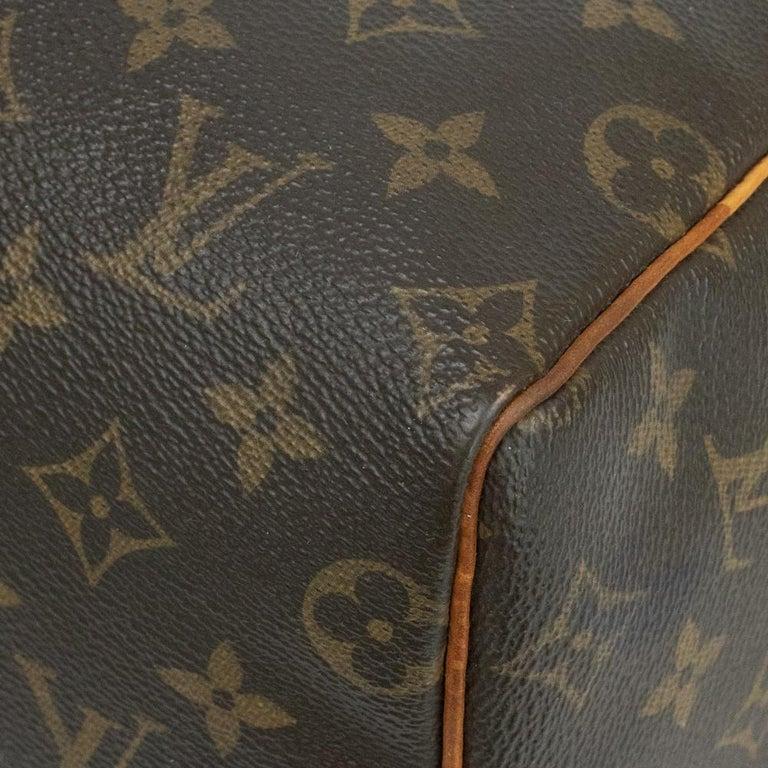 Louis Vuitton, Speedy in brown canvas 6