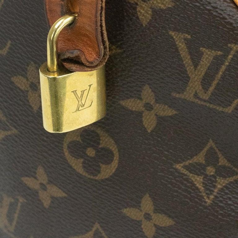 Louis Vuitton, Speedy in brown canvas 8