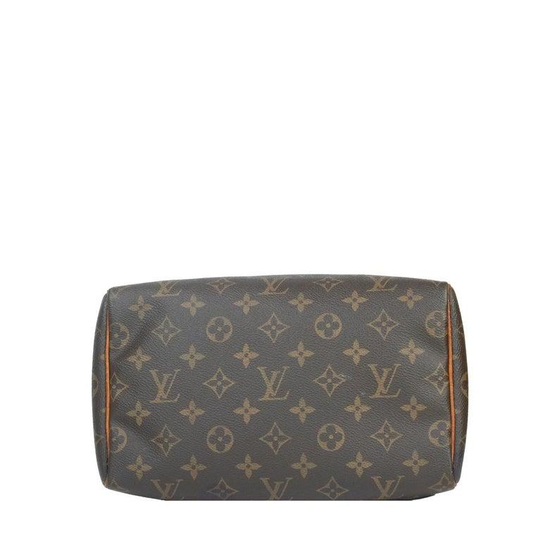 Louis Vuitton, Speedy in brown canvas In Good Condition In Clichy, FR