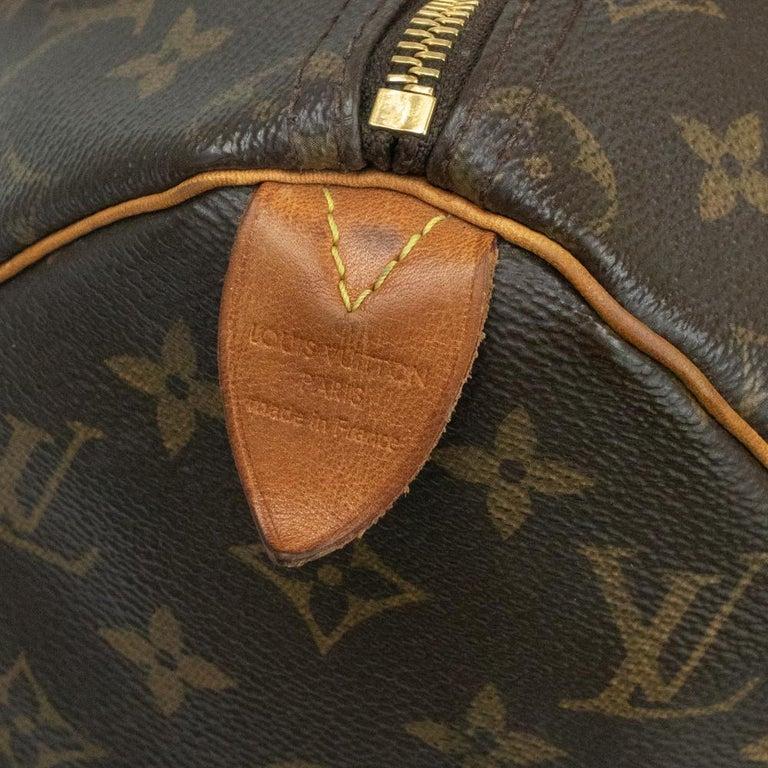 Louis Vuitton, Speedy in brown canvas 1