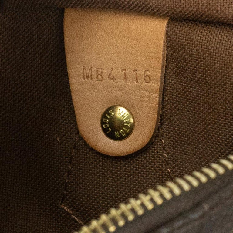 Louis Vuitton, Speedy in brown canvas 2
