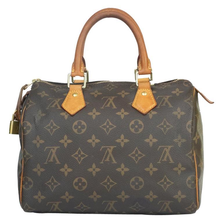 Louis Vuitton, Speedy in brown canvas