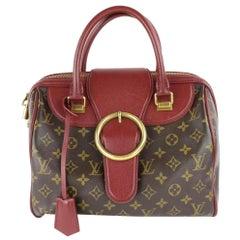 Louis Vuitton Speedy Limited Edition Bordeaux Golden Arrow 12lz0129