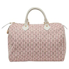 LOUIS VUITTON Speedy Mini Lin Monogram pink