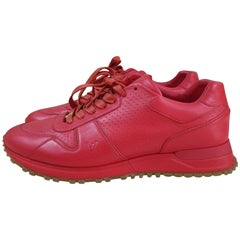 Louis Vuitton Sport Supreme Red Sneakers