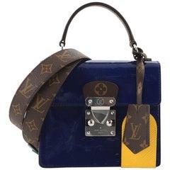 Louis Vuitton Spring Street NM Handbag Monogram Vernis with Monogram Canv