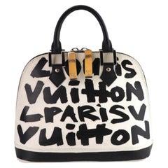 Louis Vuitton Sprouse Graffiti Alma MM Rare Limited Edition