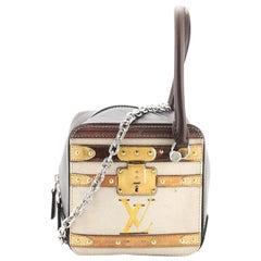 Louis Vuitton Square Bag Limited Edition Time Trunk Canvas