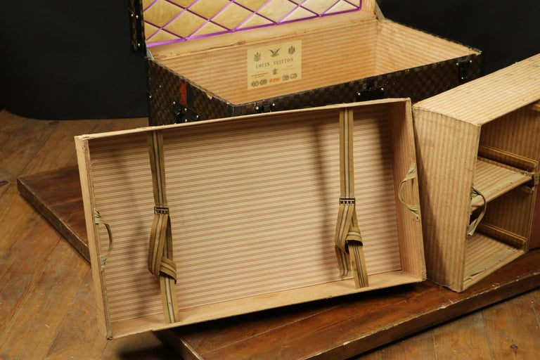 Louis Vuitton Squares Trunk For Sale 6