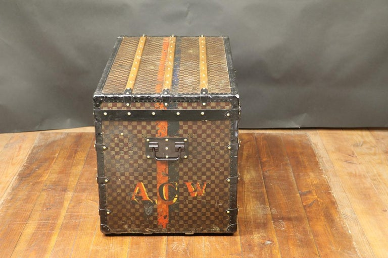 Louis Vuitton Squares Trunk In Good Condition For Sale In Haguenau, FR