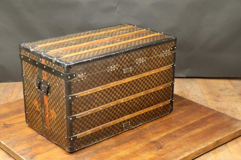 Louis Vuitton Squares Trunk For Sale 1