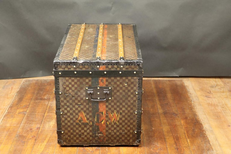 Louis Vuitton Squares Trunk For Sale 2