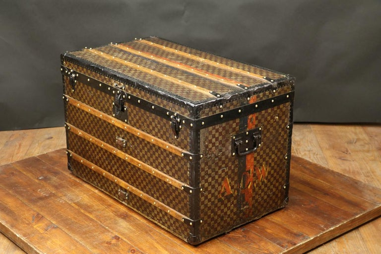 Louis Vuitton Squares Trunk For Sale 3