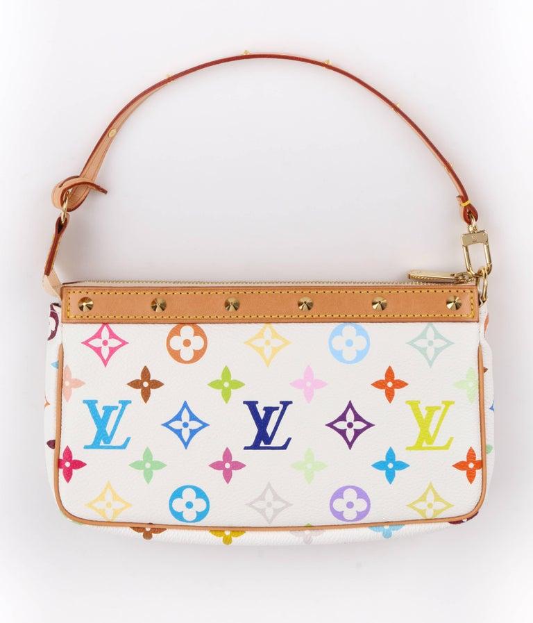 bba03a1b2a44 Louis Vuitton S 2003 Takashi Murakami Pochette Multicolor. Louis Vuitton  Monogram Multicolore Alma Pm Bag