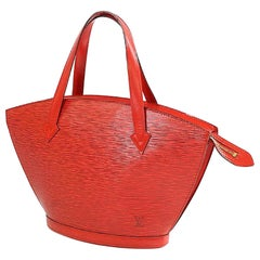 LOUIS VUITTON St. Jaques shopping Womens tote bag M52279 castilian red