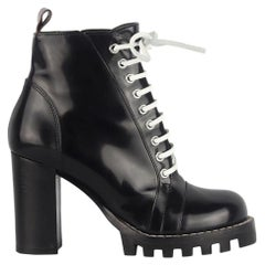 Louis Vuitton Star Trail Leather Ankle Boots