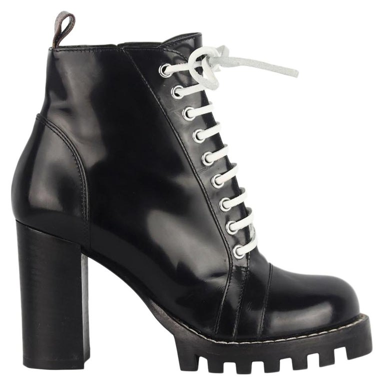 Louis Vuitton Star Trail Leather Ankle Boots For Sale