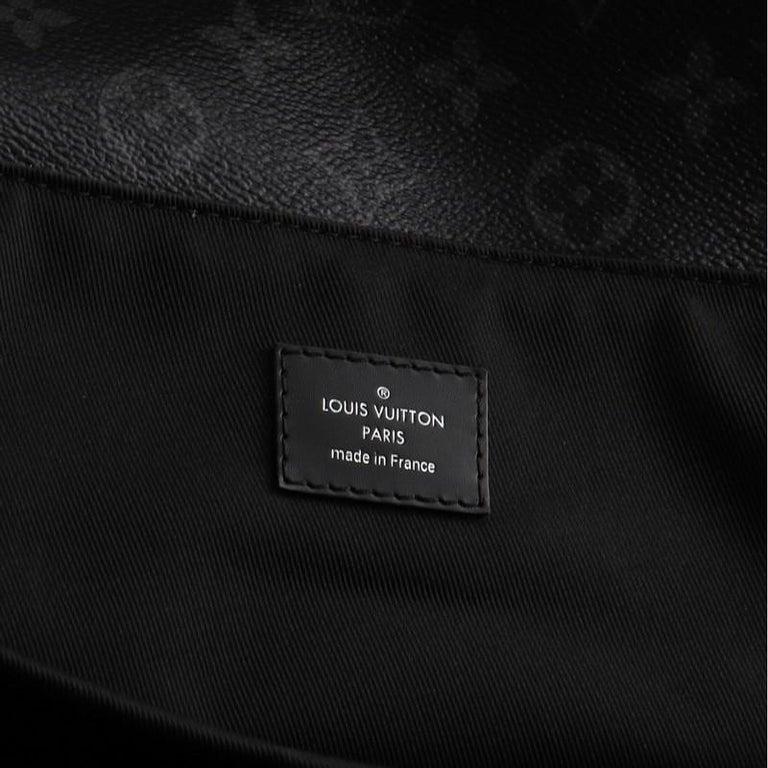 Louis Vuitton Steamer Backpack Monogram Eclipse Canvas For Sale 3