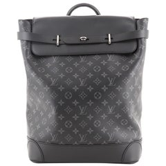 Louis Vuitton Steamer Backpack Monogram Eclipse Canvas
