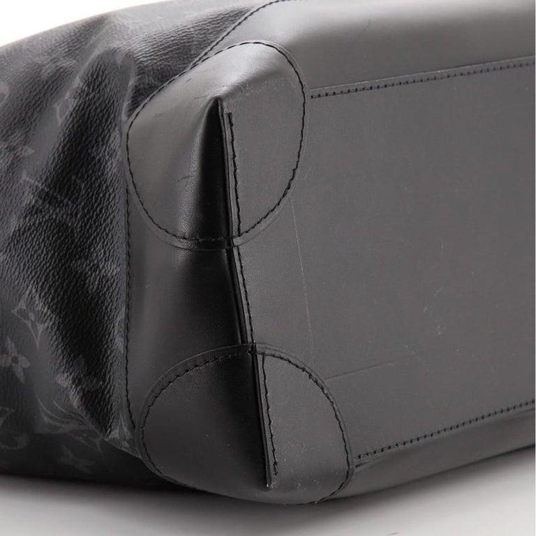 Louis Vuitton Steamer Bag Monogram Eclipse Canvas PM For Sale 2