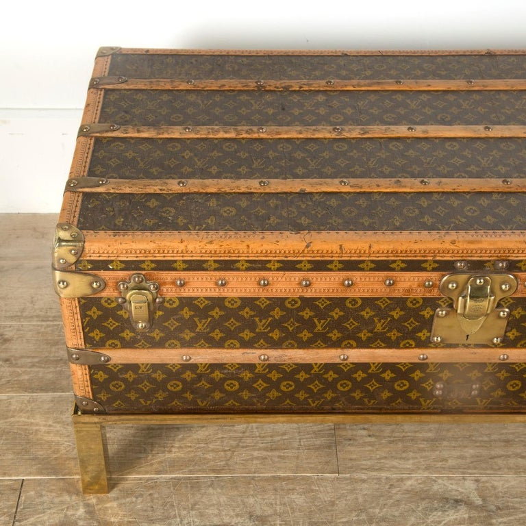 Louis Vuitton Steamer Trunk In Good Condition In Gloucestershire, GB