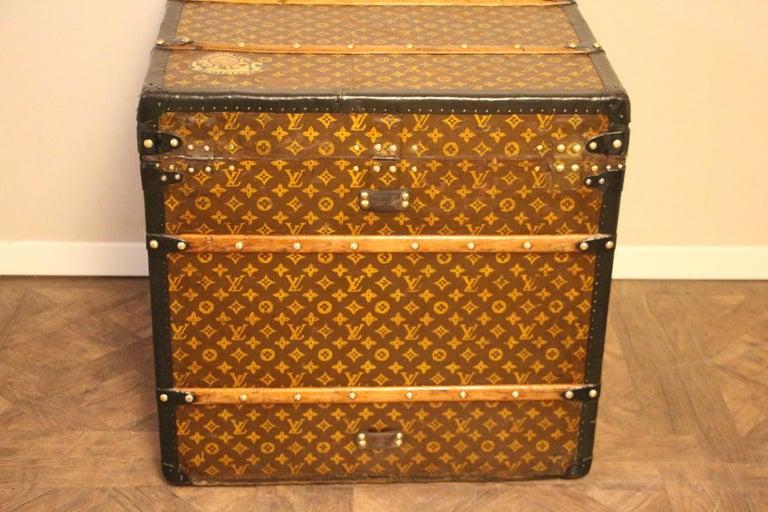Louis Vuitton Steamer Trunk, Louis Vuitton Cube Trunk, Louis Vuitton Trunk For Sale 4