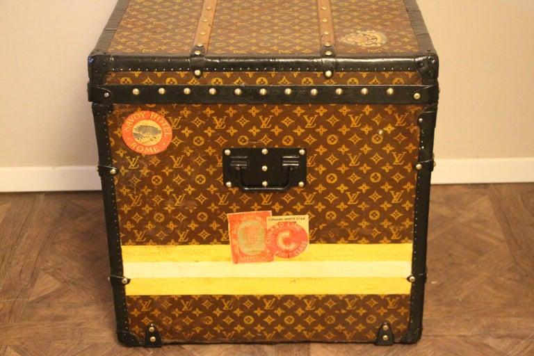 Louis Vuitton Steamer Trunk, Louis Vuitton Cube Trunk, Louis Vuitton Trunk For Sale 5
