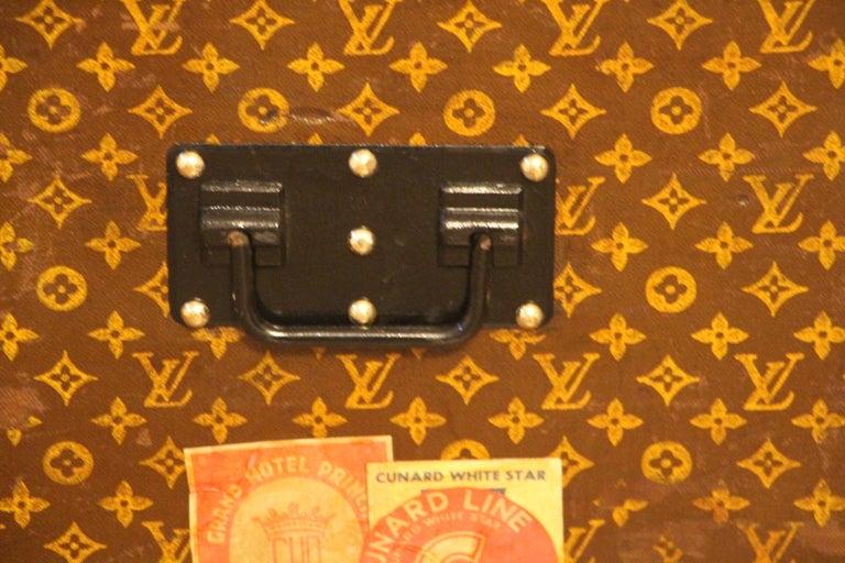Louis Vuitton Steamer Trunk, Louis Vuitton Cube Trunk, Louis Vuitton Trunk For Sale 6