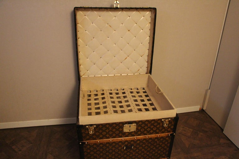 Louis Vuitton Steamer Trunk, Louis Vuitton Cube Trunk, Louis Vuitton Trunk For Sale 8
