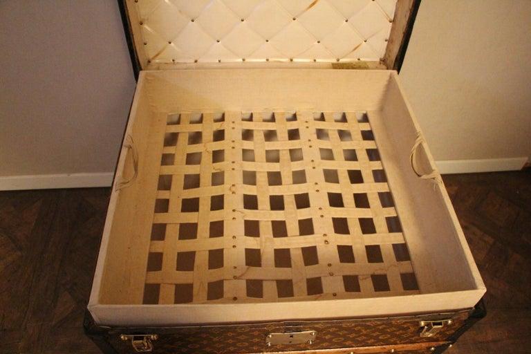 Louis Vuitton Steamer Trunk, Louis Vuitton Cube Trunk, Louis Vuitton Trunk For Sale 9