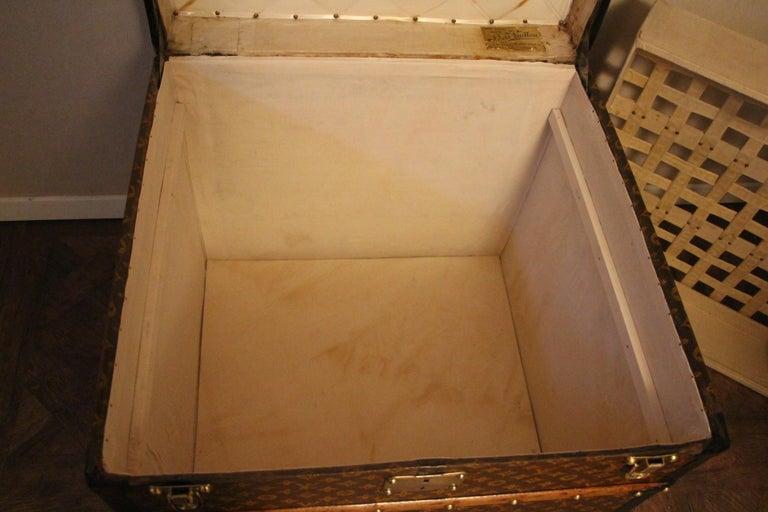 Louis Vuitton Steamer Trunk, Louis Vuitton Cube Trunk, Louis Vuitton Trunk For Sale 10