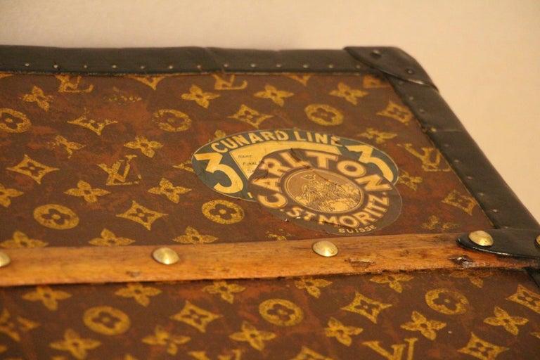 Louis Vuitton Steamer Trunk, Louis Vuitton Cube Trunk, Louis Vuitton Trunk For Sale 1
