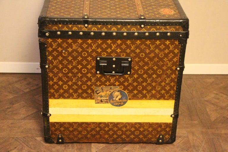 Louis Vuitton Steamer Trunk, Louis Vuitton Cube Trunk, Louis Vuitton Trunk For Sale 2