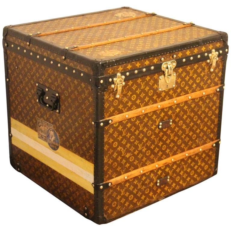 Louis Vuitton Steamer Trunk, Louis Vuitton Cube Trunk, Louis Vuitton Trunk For Sale