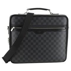 Louis Vuitton Steeve Briefcase Damier Graphite
