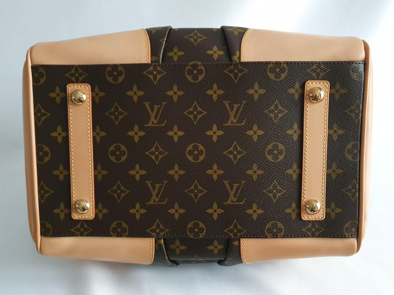 Louis Vuitton, Stephen Monogram in brown canvas In Good Condition For Sale In Clichy, FR