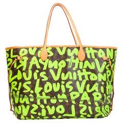 Louis Vuitton Stephen Sprouse Limited Edition Monogram Graffiti Neverfull GM