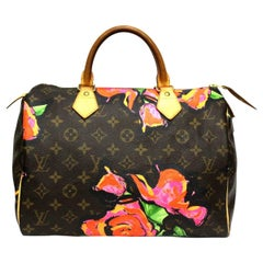Louis Vuitton Stephen Sprouse Roses Speedy 30 Bag