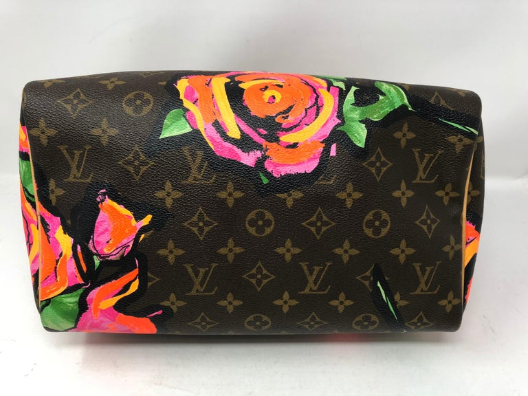 Women's or Men's Louis Vuitton Stephen Sprouse Roses Speedy 30 For Sale