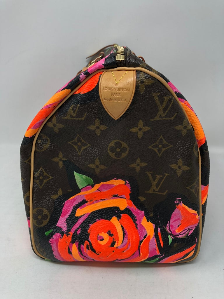 Louis Vuitton Stephen Sprouse Roses Speedy 30 For Sale 2