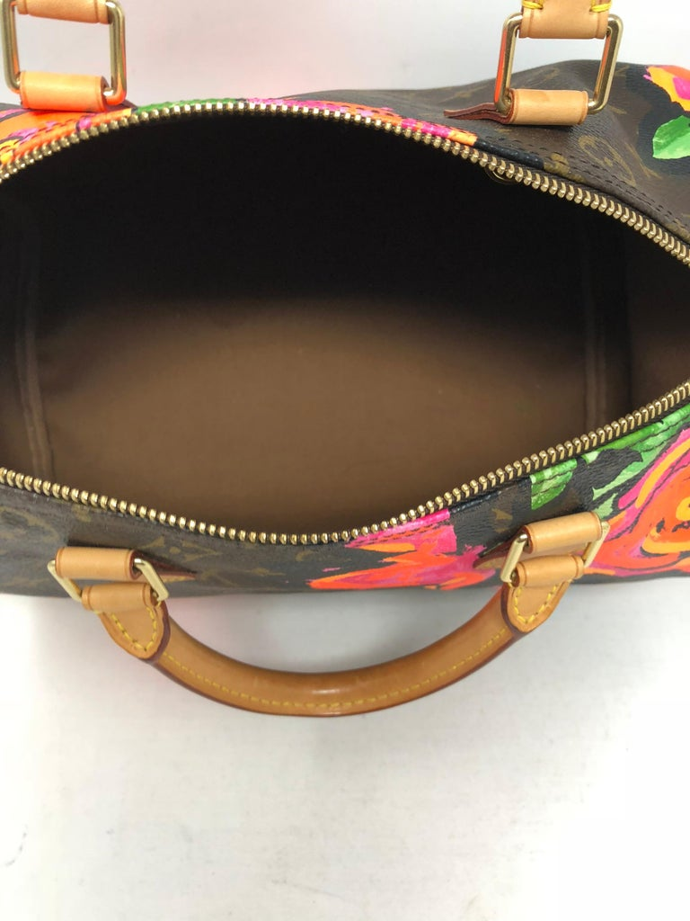 Louis Vuitton Stephen Sprouse Roses Speedy 30 For Sale 3
