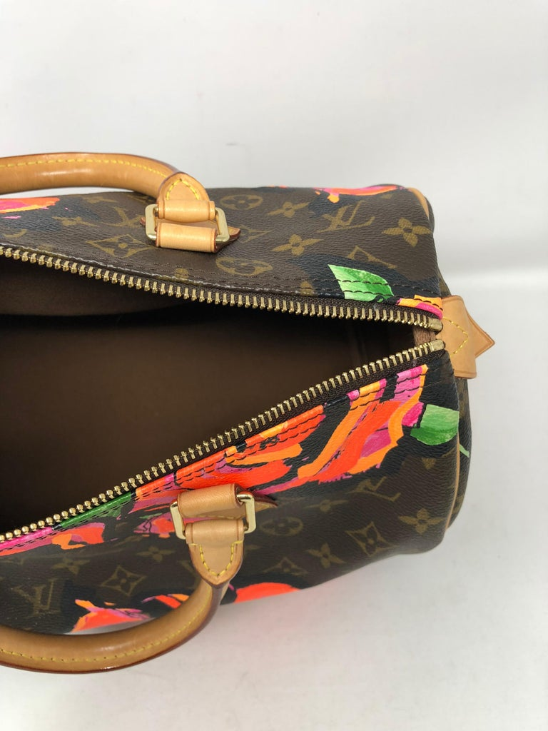 Louis Vuitton Stephen Sprouse Roses Speedy 30 For Sale 4