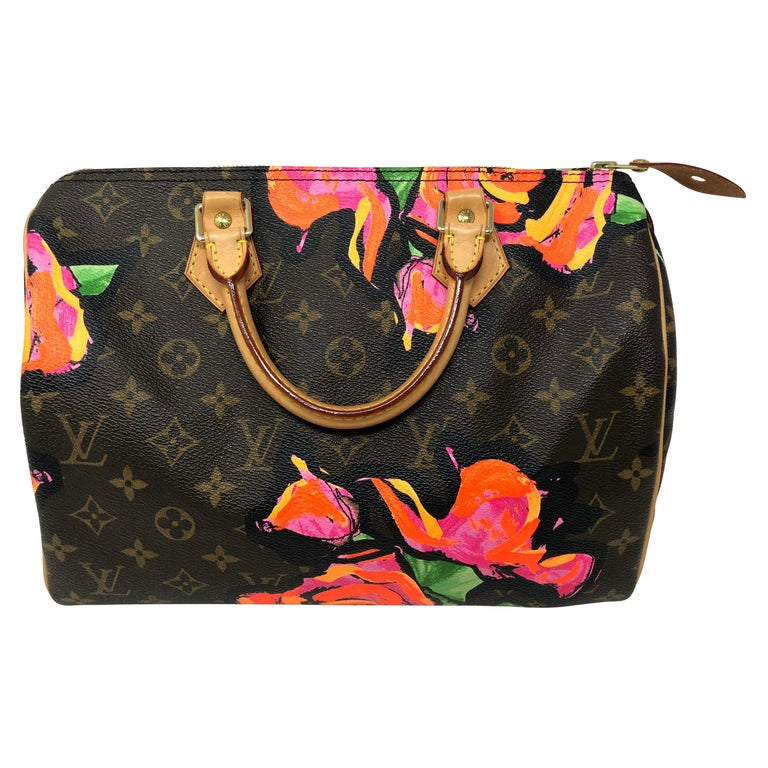 Louis Vuitton Stephen Sprouse Roses Speedy 30 For Sale