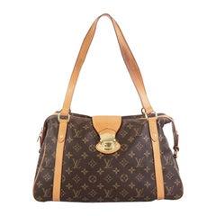 Louis Vuitton Stresa Handbag Monogram Canvas PM