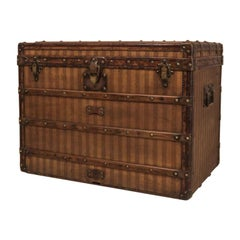 Louis Vuitton Striped Trunk, circa 1890