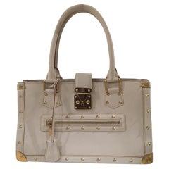 Louis Vuitton Suhali cream leather shoulder bag