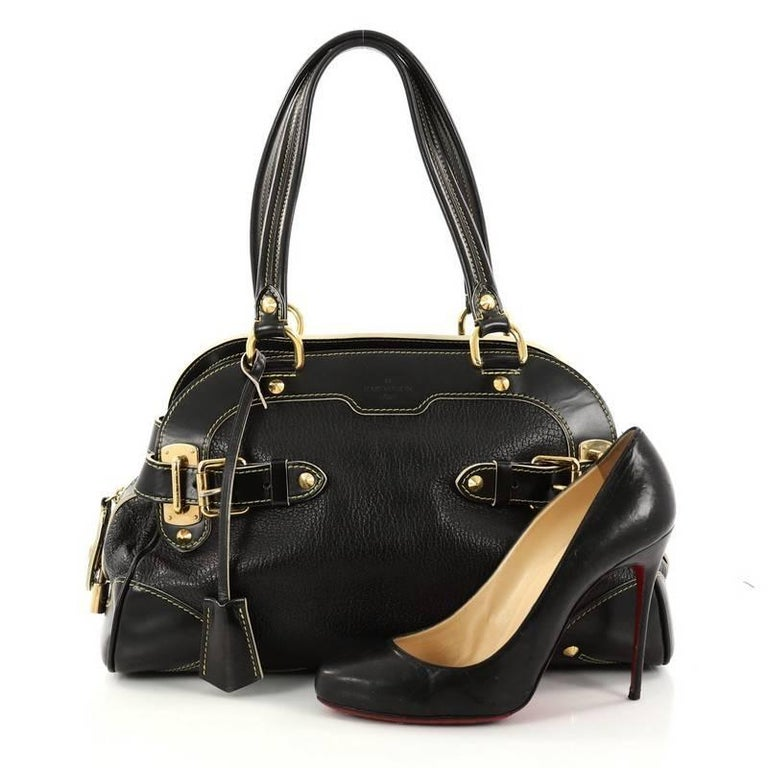 7bf641a0f This authentic Louis Vuitton Suhali Le Radieux Handbag Leather is a  stunning and luxurious bag.