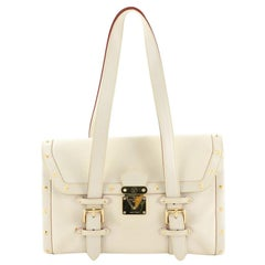 Louis Vuitton Suhali L'epanoui Handbag Leather GM