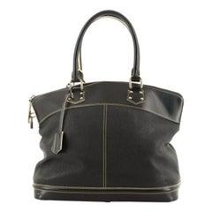 Louis Vuitton Suhali Lockit Handbag Leather GM