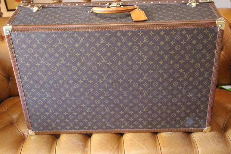 Louis Vuitton Suitcase, Alzer 80 Louis Vuitton Suitcase,Large Vuitton Suitcase For Sale 6